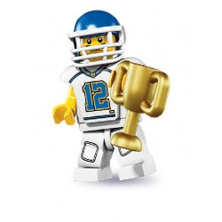 Lego Minifigures Serie 8 Giocatore di Football