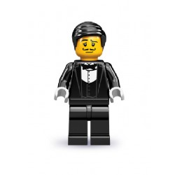 Lego Minifigures Serie 9 Cameriere