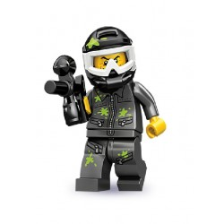 Lego Minifigures Serie 10 Giocatore di Paintball