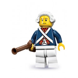 Lego Minifigures Serie 10 Soldato Rivoluzionario