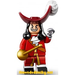 Lego Minifigures Disney CAPITAN UNCINO
