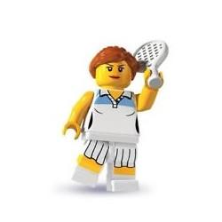 Lego Minifigures Serie 3 Tennista