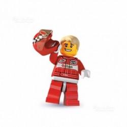 Lego Minifigures Serie 3 Pilota Rally