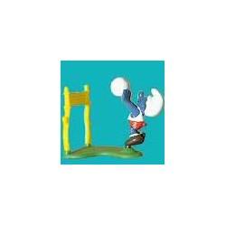4.0223/2-Puffo giocatore di Pallavolo