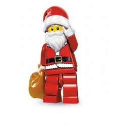 Lego Minifigures Serie 8 Babbo Natale