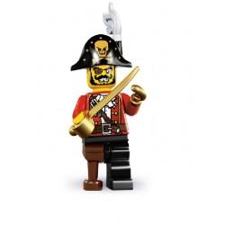 Lego Minifigures Serie 8 Capitano Pirata