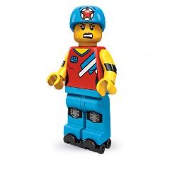 Lego Minifigures Serie 9 Ragazza Pattinatrice da Corsa
