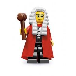 Lego Minifigures Serie 9 Giudice