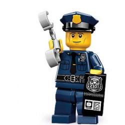 Lego Minifigures Serie 9 Poliziotto