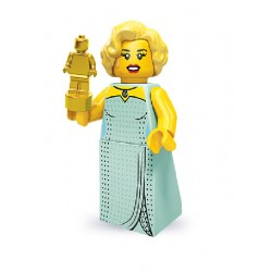 Lego Minifigures serie 9 Attrice di Hollywood
