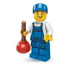 Lego Minifigures Serie 9 Idraulico
