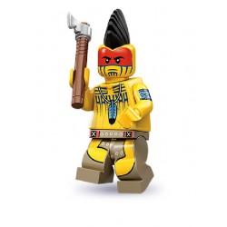 Lego Minifigures Serie 10 Guerriero Tomahawk
