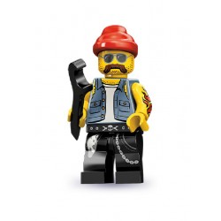 Lego Minifigures Serie 10 Meccanico di Moto