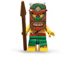 Lego Minifigures Serie 11 Guerriero Tiki
