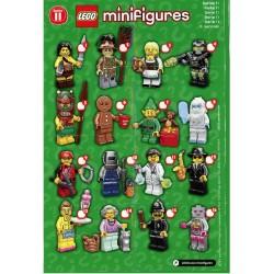 Lego Minifigures Serie 11 Completa