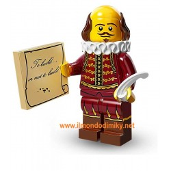 Lego The Movie WILLIAM SHAKESPEARE