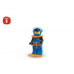 Lego Minifigures Serie 1 Subacqueo