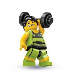 Lego Minifigures Serie 2 Sollevatore Pesi