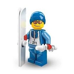 Lego Minifigures Serie 2 Sciatore