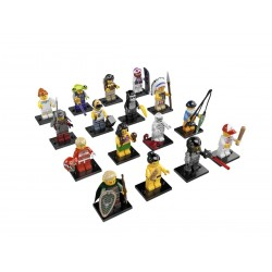 Lego Minifigures Serie 3 Completa
