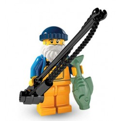 Lego Minifigures Serie 3 Pescatore