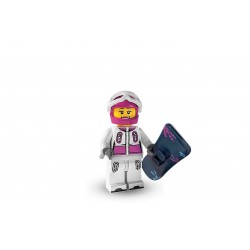 Lego Minifigures Serie 3 Snowboarder
