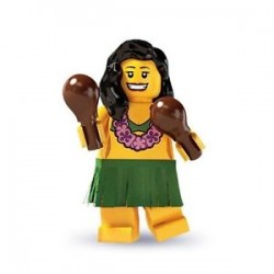 Lego Minifigures Serie 3 Hawaiana