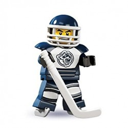 Lego Minifigures Serie 4 Giocatore Hockey