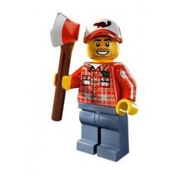 Lego Minifigures Serie 5 Boscaiolo