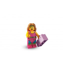 Lego Minifigures Serie 5 Istruttrice di Fitness