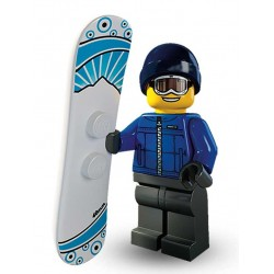 Lego Minifigures Serie 5 Snowboarder