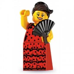 Lego Minifigures Serie 6 Danzatrice Flamenco