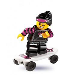 Lego Minifigures Serie 6 Ragazza Skater
