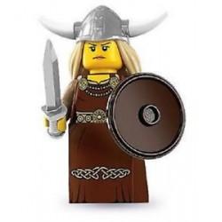 Lego Minifigures Serie 7 Donna Vichinga