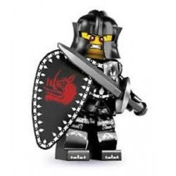 Lego Minifigures Serie 7 Cavaliere Nero