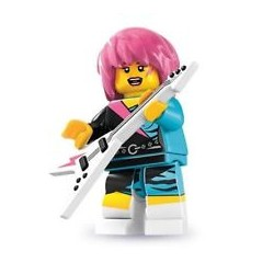 Lego Minifigures Serie 7 Ragazza Rockstar