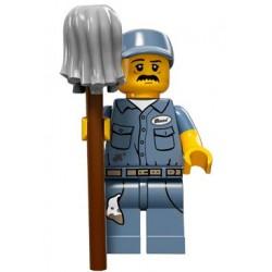 Lego Minifigures Serie 15 Bidello