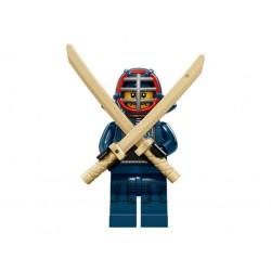 Lego Minifigures Serie 15 Lottatore di Kendo