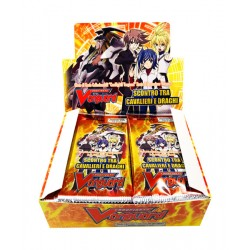 Cardfight!! Vanguard Scontro tra Cavalieri e Draghi display 30 buste
