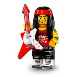 Lego Minifigures Ninjago Rocker con Gong e Chitarra