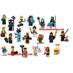 Lego Minifigures Ninjago Serie Completa