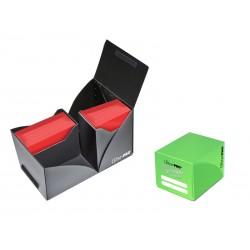 ULTRA PRO Porta mazzo verticale Pro-Dual Deck Box 120 Verde Chiaro