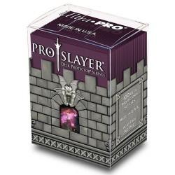 ULTRA PRO Porta mazzo verticale + 100 proteggi carte standard Pro-Slayer Balck Cherry