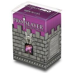 ULTRA PRO Porta mazzo verticale + 100 proteggi carte standard Pro-Slayer Hot Pink