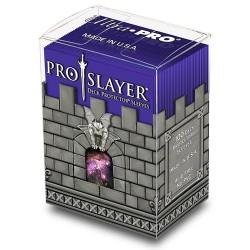 ULTRA PRO Porta mazzo verticale + 100 proteggi carte standard Pro-Slayer Purple