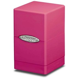 ULTRA PRO Porta mazzo Satin Tower Bright Pink