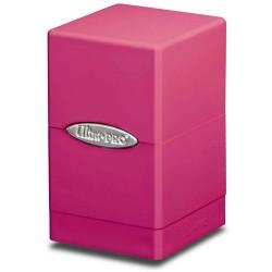 ULTRA PRO Porta mazzo Satin Tower Bright Pink