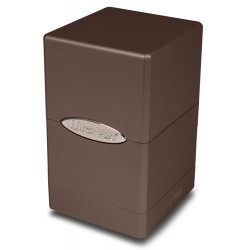 ULTRA PRO Porta mazzo Satin Tower Metallic Dark Chocolate