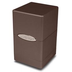 ULTRA PRO Porta mazzo Satin Tower Metallic Dark Chocolate