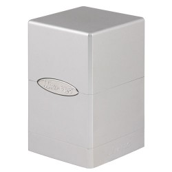 ULTRA PRO Porta mazzo Satin Tower Metallic Silver
